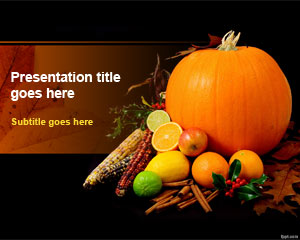 Thanksgiving Day PowerPoint Template