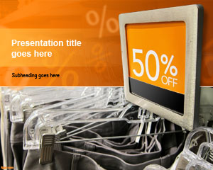 Computers for Sale PowerPoint Template