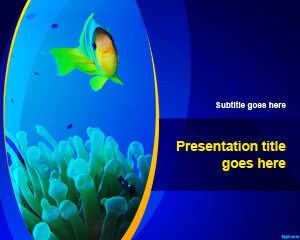 Fishbowl PowerPoint Template