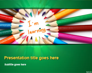 Kids Learning PowerPoint Template