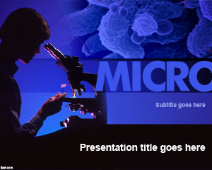 microbiology powerpoint template ppt template