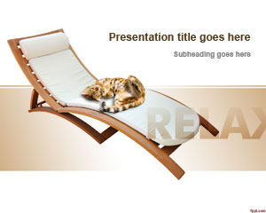Relaxing Chair PowerPoint Template