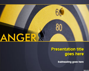 Anger PowerPoint Template