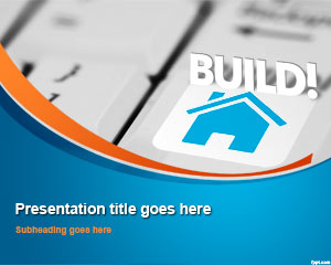 House Real Estate PowerPoint Template