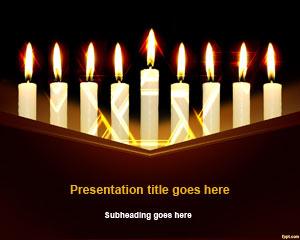 Hanukkah PowerPoint Template
