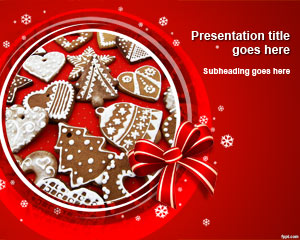 Christmas Baking PowerPoint Template