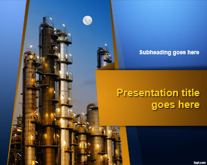 Industrial Plant PowerPoint Template