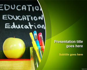... Education & Business School PowerPoint Presentation Template Design