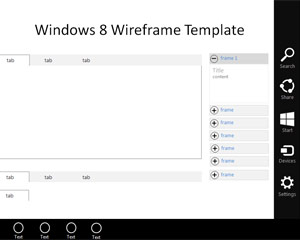 Topic free powerpoint templates you can download free wireframe including windows 8 layout design to prepare simple but effective sketches for your next application running on windows 8 os toneelgroepblik Images