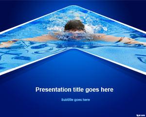 Swim PowerPoint Template