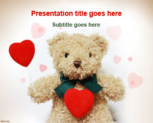 Romantic Gift PowerPoint Template