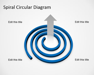 Free Spiral Diagram Template for PowerPoint