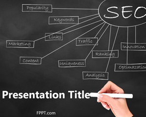 Free SEO Analysis PowerPoint Template