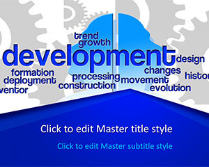 Free Development PowerPoint Template