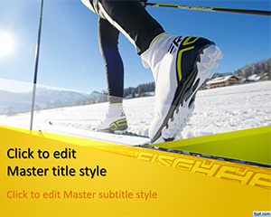 free-ski-powerpoint-template