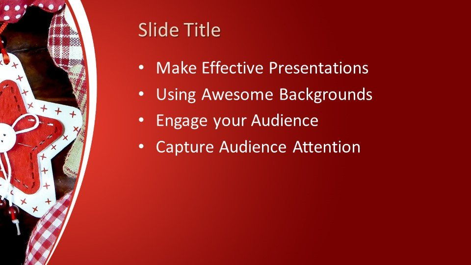 free merry christmas powerpoint template free powerpoint