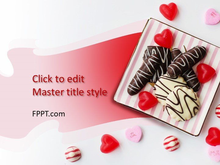 Free Sweet Candies PowerPoint Template