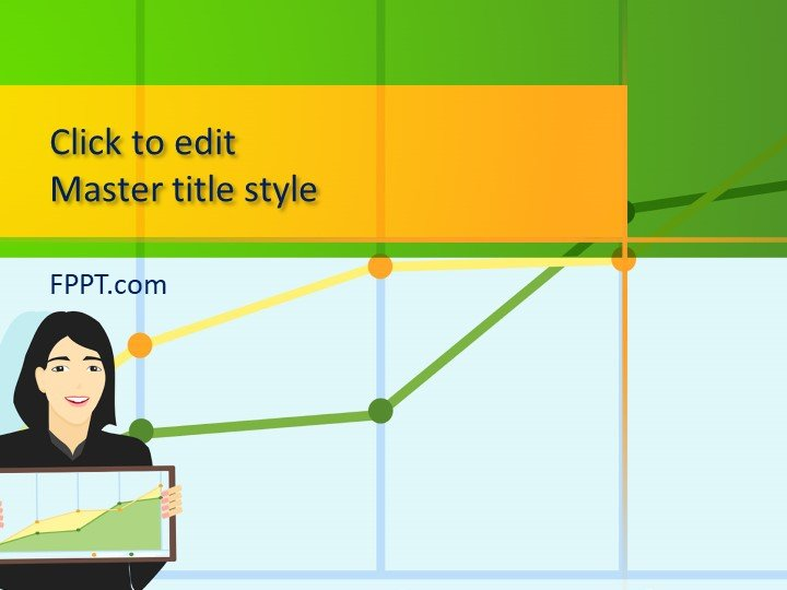 Free Web Traffic Report PowerPoint Template
