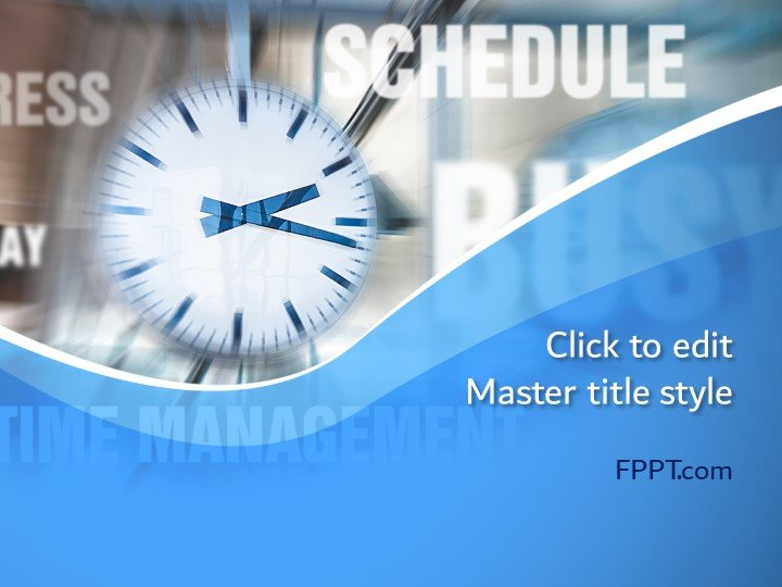 Free Time Concept PowerPoint Template