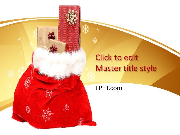 new year holidays powerpoint template free powerpoint