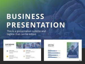 Free Business Presentation PowerPoint Template