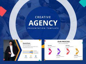 Free Creative Agency PowerPoint template