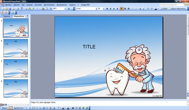 dentist powerpoint template