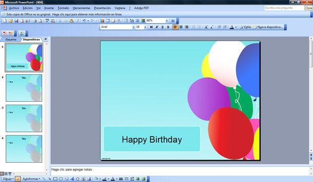 powerpoint template designer. birthday ackground design