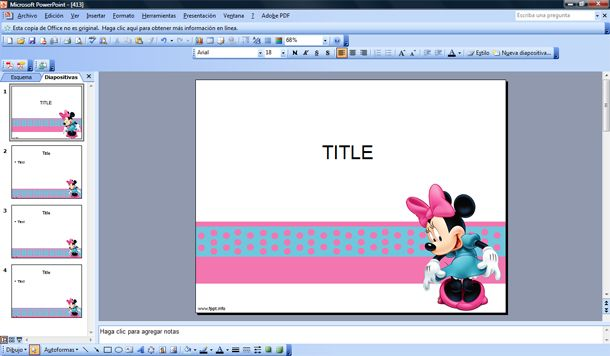 minnie mouse template; minnie mouse templates; background power point