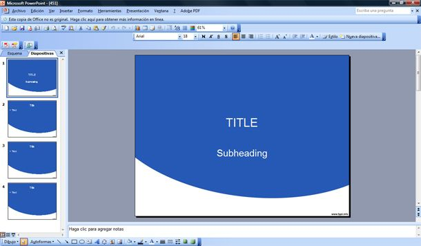 free very simple powerpoint template