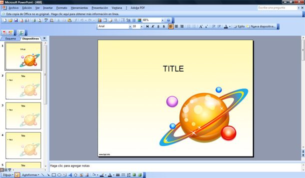 powerpoint presentation on planets - photo #44