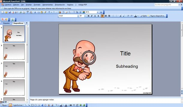 detective powerpoint ppt