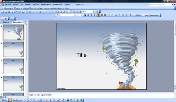 twister powerpoint template