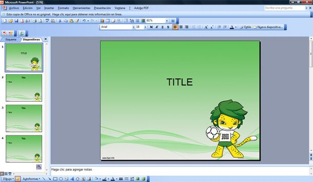 outlook 2010 powerpoint