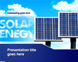 Free Solar Energy PowerPoint Template